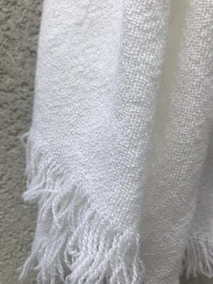 PRIVATE0204 - SIM SCARF - WHITE