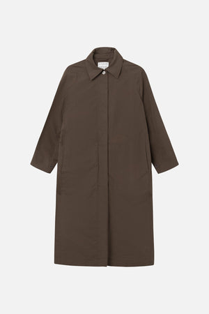 MARK TAN - CATHRINA COAT - CHOCOLATE