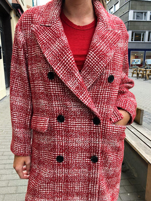 ISABEL MARANT ÈTOILE - EBRA COAT RED