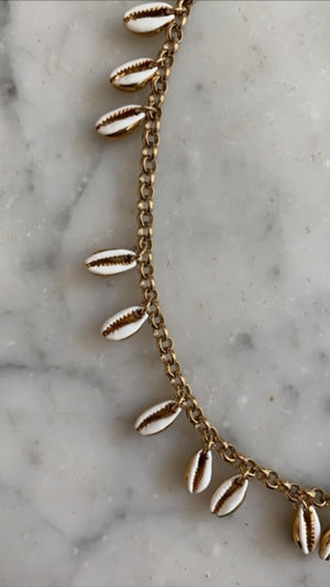 ISABEL MARANT JEWELRY - NECKLACE SHELL -ECRU