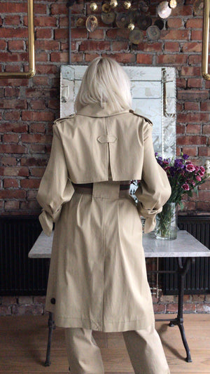 BA&SH - BALZAC TRENCH - BEIGE