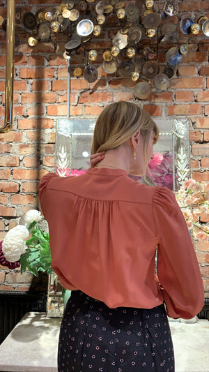 VANESSA BRUNO - NED BLOUSE - BLUSH