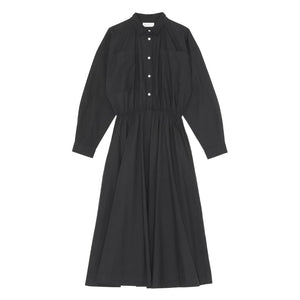 SKALL - KAREN SHIRTDRESS - BLACK