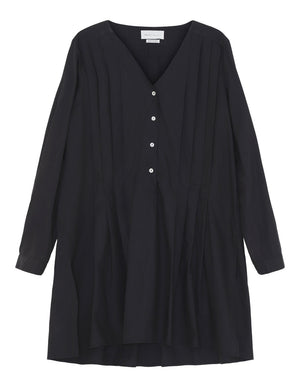 SKALL - LUNE SHIRT - BLACK