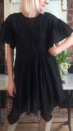 ISABEL MARANT ÈTOILE - ANNAELLE DRESS - BLACK
