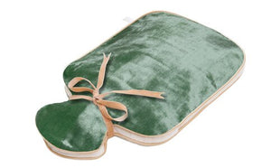 HOLISTIC SILK - HOT WATER BOTTLE - JADE SILK VELVET