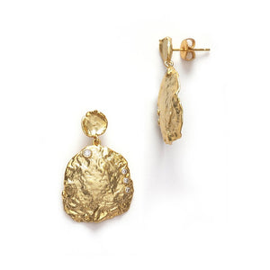 ANNI LU - THE SHELLA EARRING - GOLD
