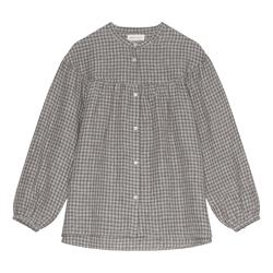 SKALL - MARGOT SHIRT - GREY CHECK
