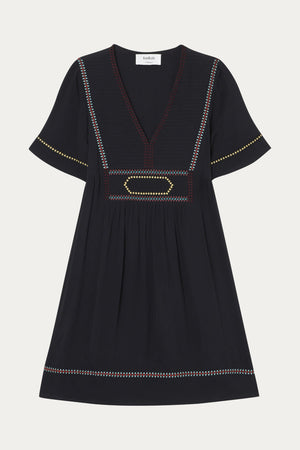 BA&SH - TALIA DRESS - CARBONE