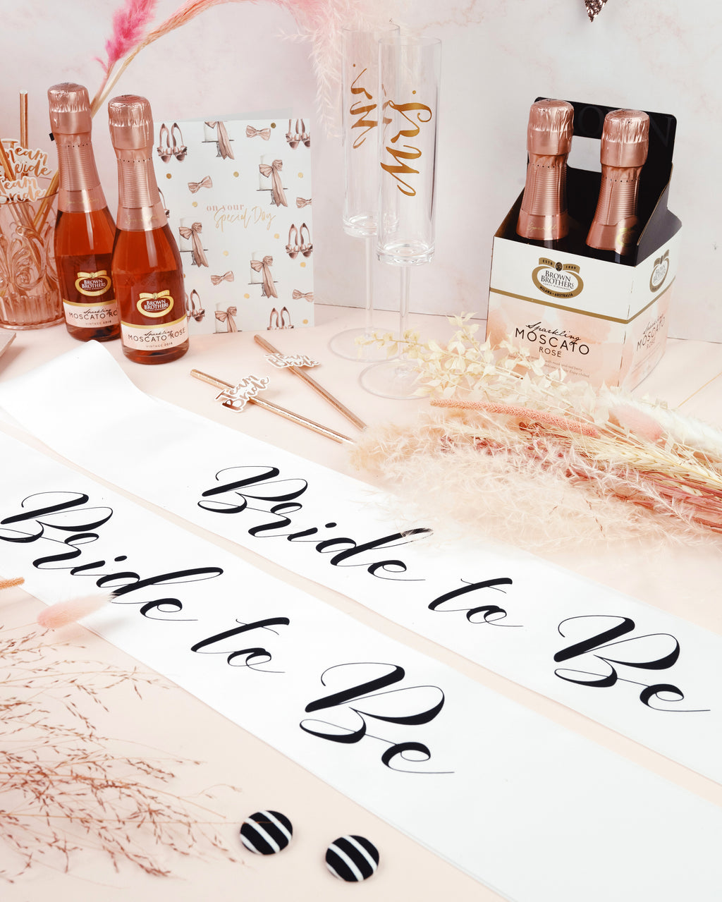 Same Sex Bachelorette Package - 2 x Sashes - Bride to Be