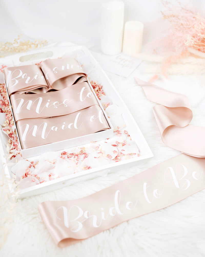 Hens Party Sash Package - Bride to Be Bridal Party