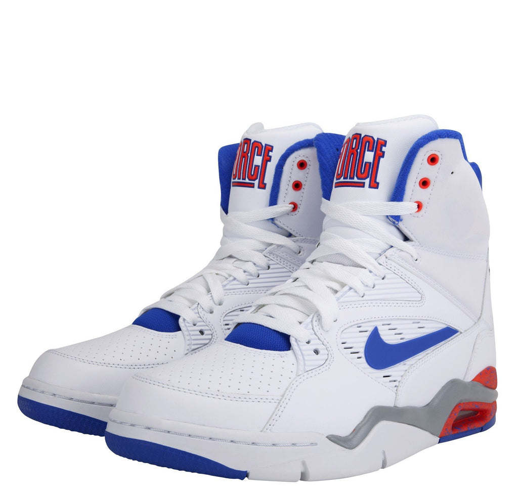 Nike Air Command Force White Lion Blue Bright Crimson Wolf Grey