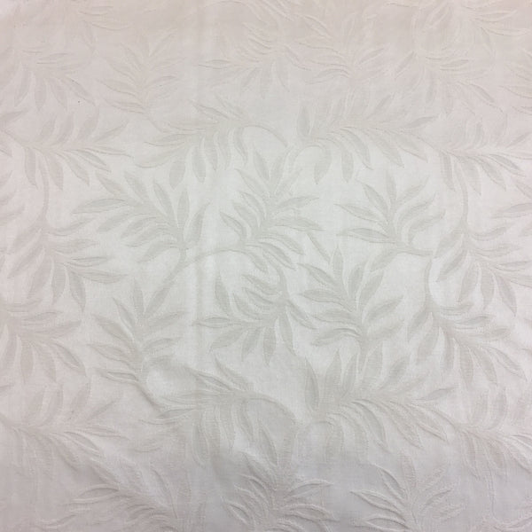 Ivory Floral Leaves