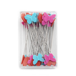 Prym - Plastic-headed pins, 0.60 mm, assorted