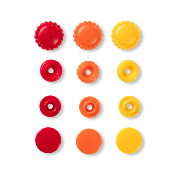 Prym - Press Fasteners - Sunflowers- 13.6mm