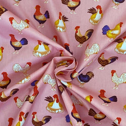 Chickens Galore - Pink
