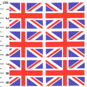 Cotton Poplin - Union Flag