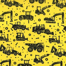 Construction Trucks - Yellow