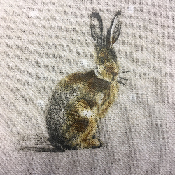 Hartley Rabbit Natural Oilcloth
