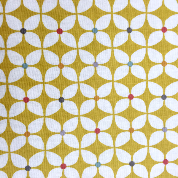 Zap Butterscotch Matt Oilcloth