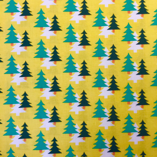 Christmas Trees - Yellow