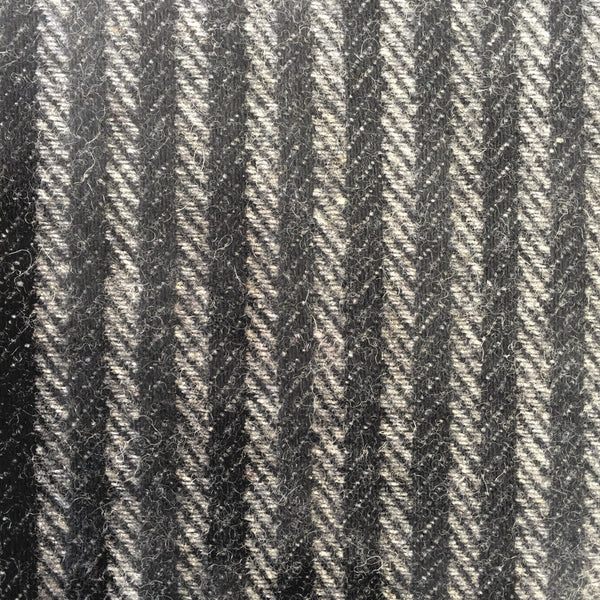 Tweed - Black Stripes
