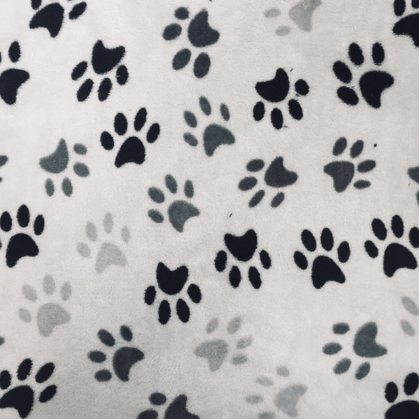 Ultra Soft Fleece - Paw Print