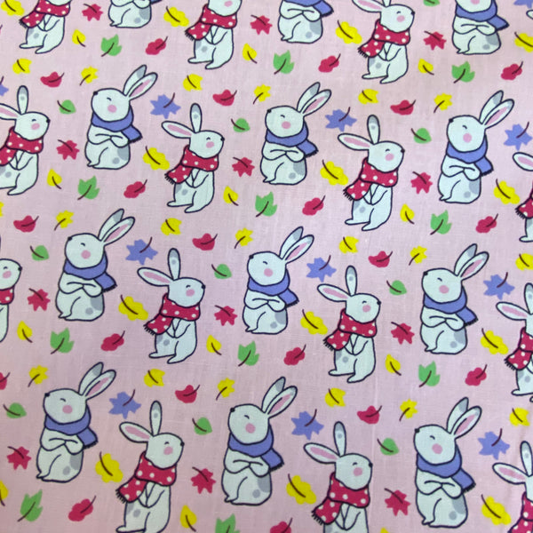 Bunnies Galore - Baby Pink