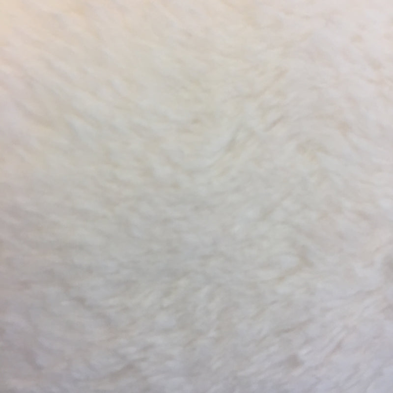 Ultra Soft Dimple Fleece - Ivory Minky
