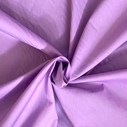 Stretch Cotton Poplin Lilac
