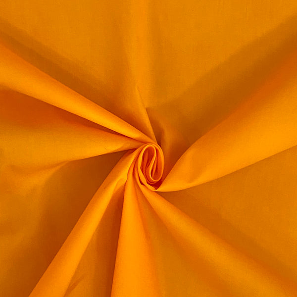 Cotton Poplin Light Orange