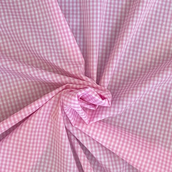 Gingham Pale Pink