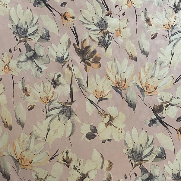 Polyester Satin - Floral