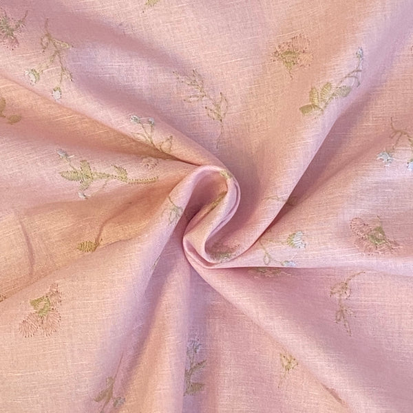 Promenade - Embroidered Pink