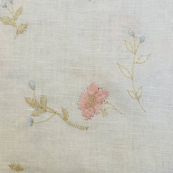 Promenade - Embroidered White