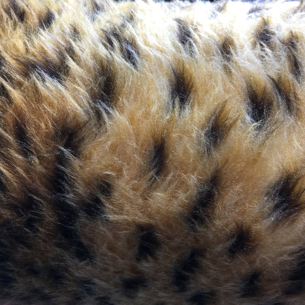 Faux Fur - Cheetah Spots short
