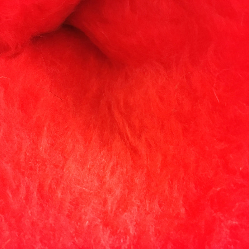 Faux Fur - Red Short