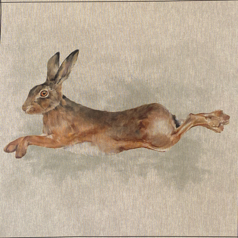 Panel - Leaping Hare
