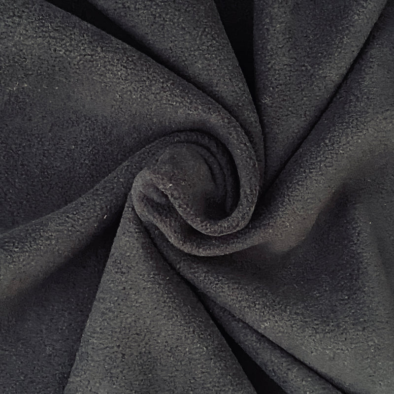 Soft Polar Fleece - Black