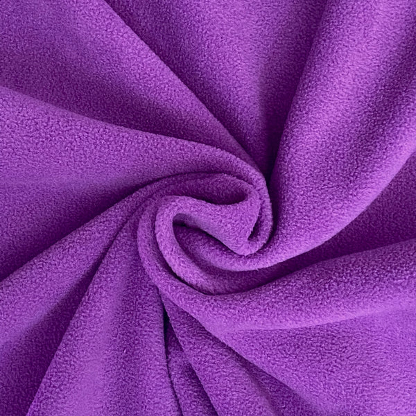 Soft Polar Fleece - Purple