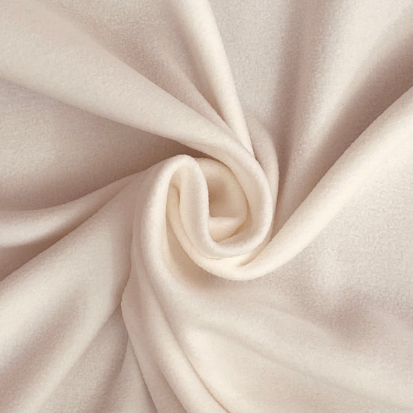 Soft Polar Fleece - Ivory