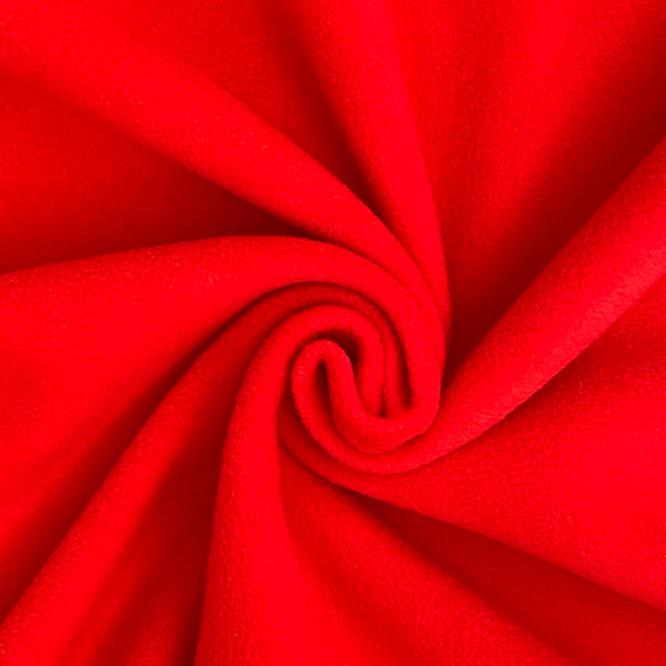 Soft Polar Fleece - Red
