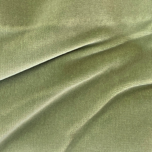 Ready Made Curtains - Velour - Sage Green