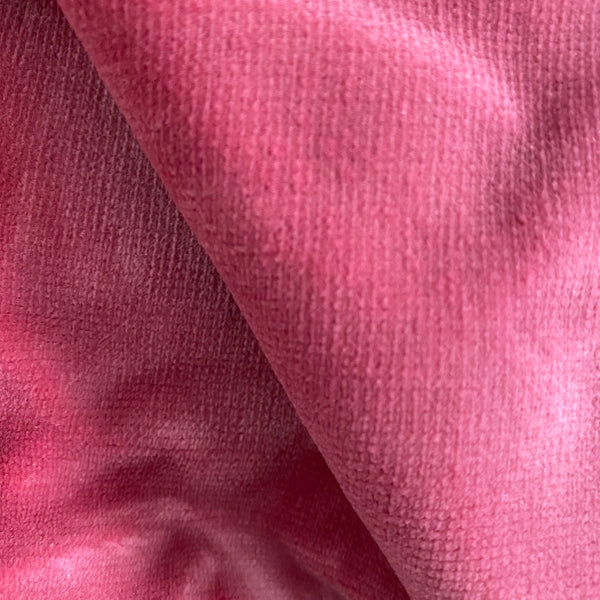 Ready Made Curtains - Velour - Raspberry 3