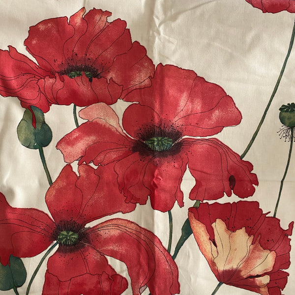 Ready Made Curtains - Door Curtain - Poppies