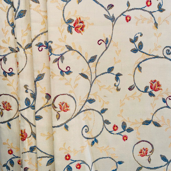 Ready Made Curtains -  Roses Vintage