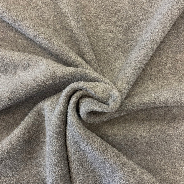 Soft Polar Fleece - Mid Grey