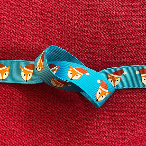 Christmas Ribbon - Foxy Christmas