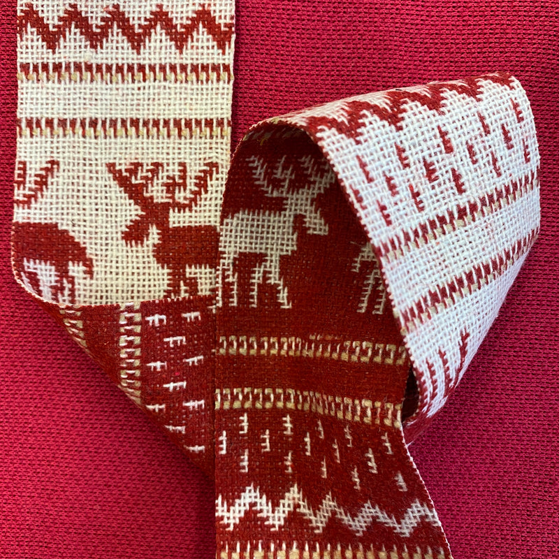 Christmas Ribbon - Reindeers