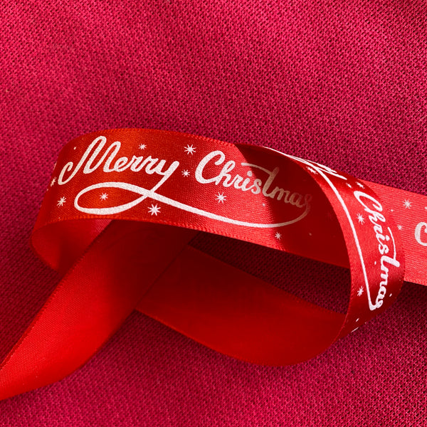 Christmas Ribbon - Merry Christmas